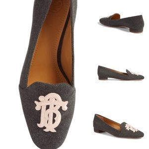 Tory Burch Antonia Monogram Loafers NWT Sz 10